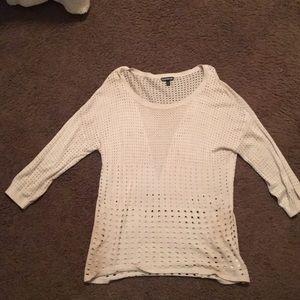 Express Scoop neck sweater